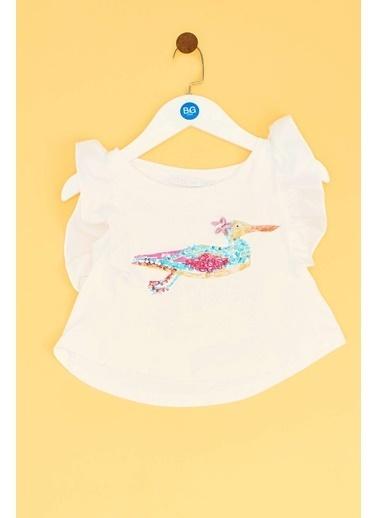 Lia Lea Lia Lea Kız Bebek Beyaz Bluz 19SSLLB0312 Beyaz